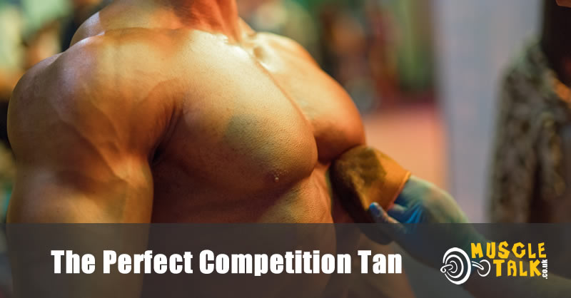 Bodybuilding Tan