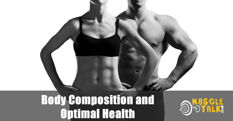Fitness couple with low body fat