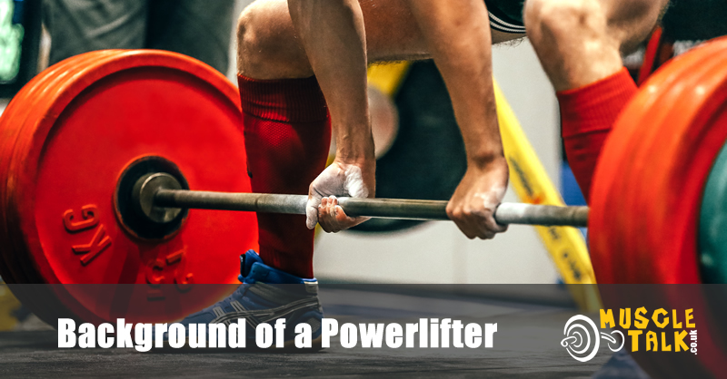Background of a Powerlifter