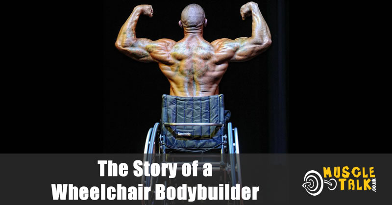 Wheelchair Bodybuilder - Darran Winfield-Stanesby