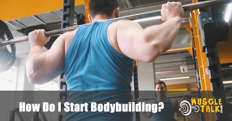 Someone relatively new to bodybuilding
