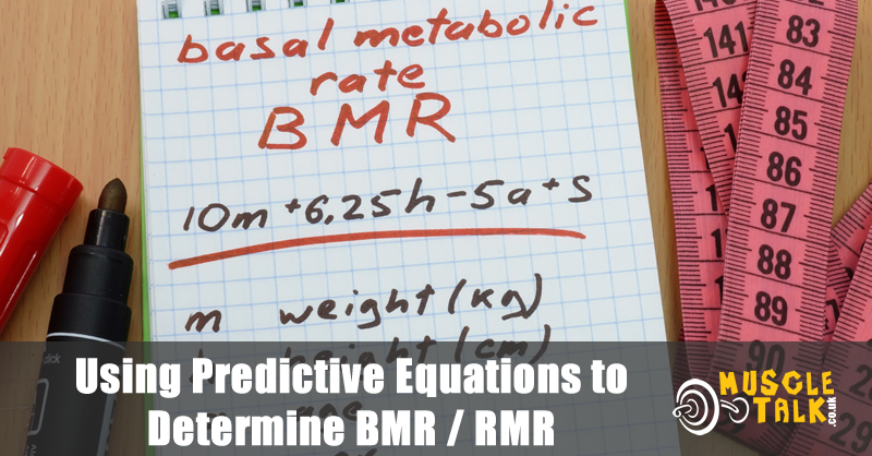 BMR equation