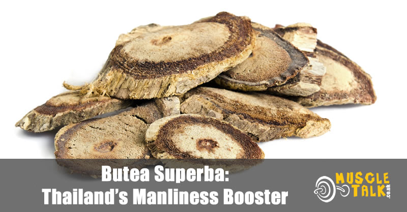 Butea Superba root that has been sliced
