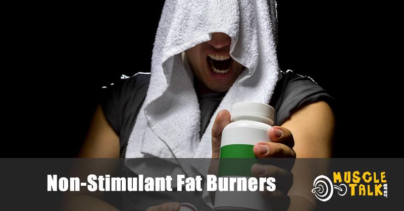 Man with non stimulant fat burner