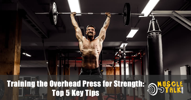 Performing the overhead press