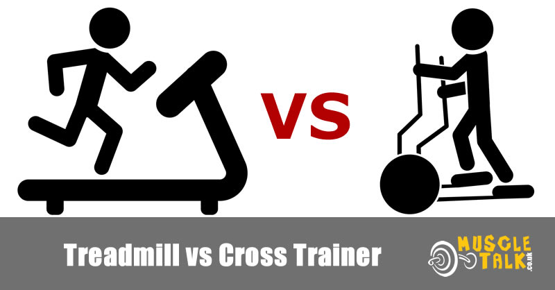 Treadmill and cross-trainer together