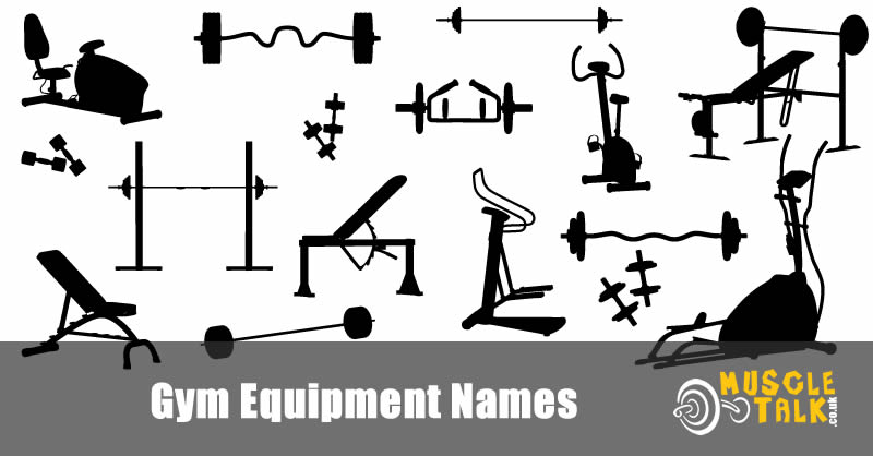 Lots of different gym equipment
