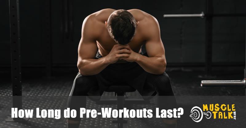 Man tired during workout