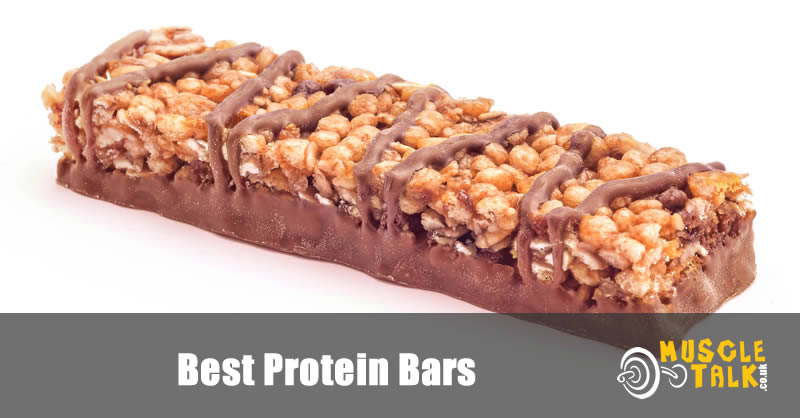 Delicious looking protein bar