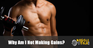 Bodybuilder that isn't making gains in their training