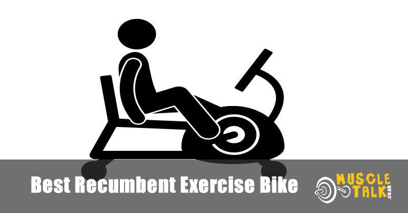 Using a recumbent exercise bike