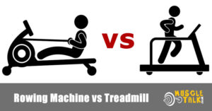 Rowing machine and a treadmill being used - which is best?