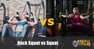 Ladies doing hack squat and a regular squat