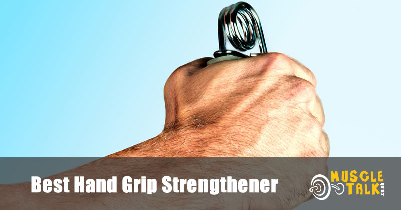Using a hand grip strengthener