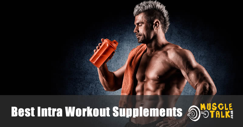 Drinking a supplement during a workout