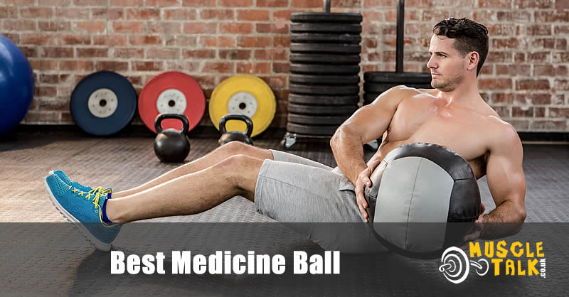 Using a medicine ball in training