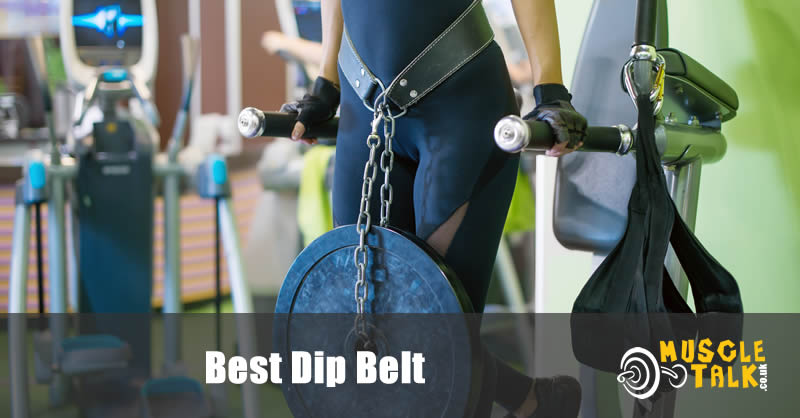 Performing dips with a dipping belt