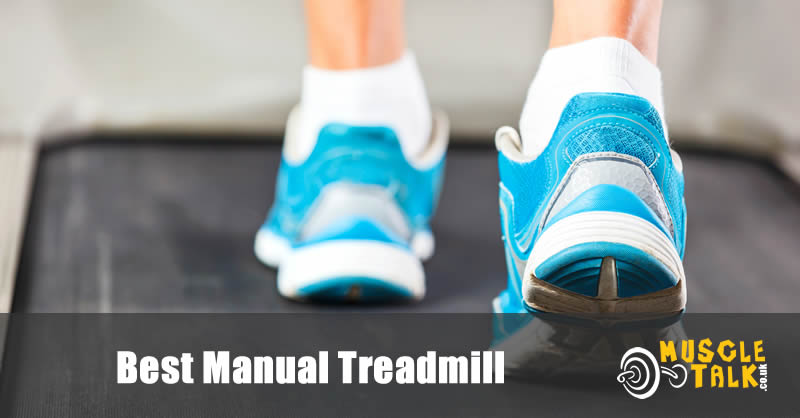 Running on a manual treadmill