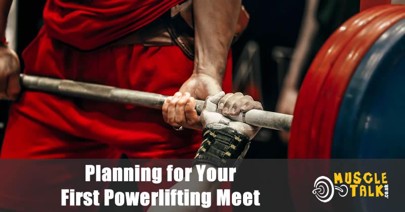 Bench press at a powerlifting meet