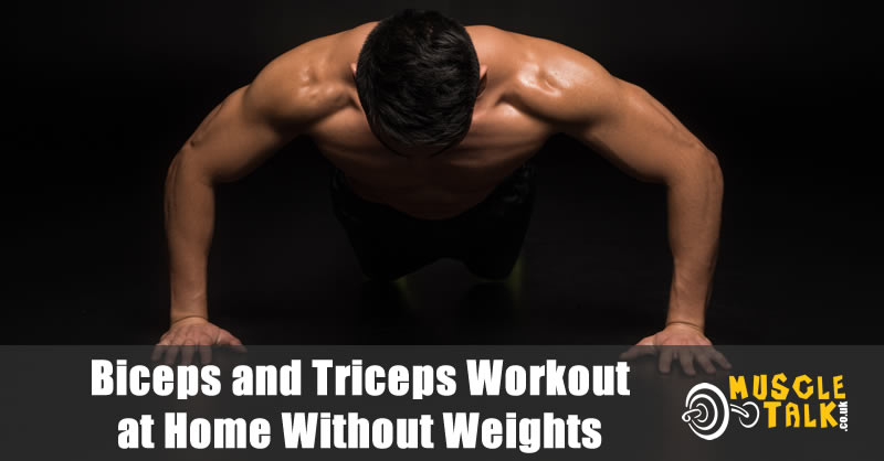 Man doing push-ups - bodyweight exercises can build a good physique
