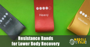 Resistance bands - useful for muscle recovery