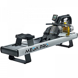 modern style water rower by FluidRower - the Mega Pro XL