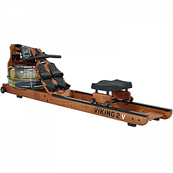 FluidRower Viking 2 V wooden water rower