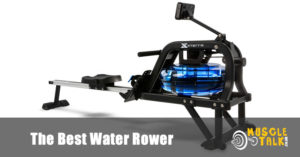 A good water rower ready to be used