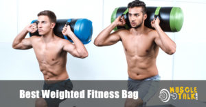 Using a weighted power bag for fitness