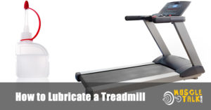 Lubricant for use on a treadmill