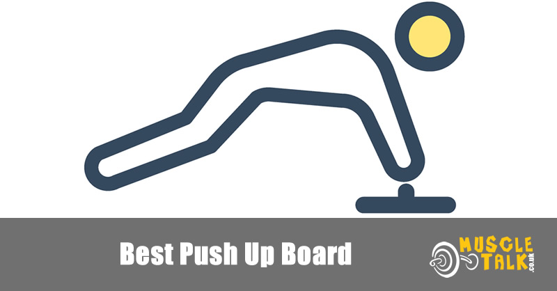 exercising with a push-up board