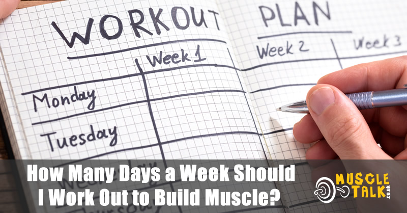 Planning the weekly workout to maximise gains