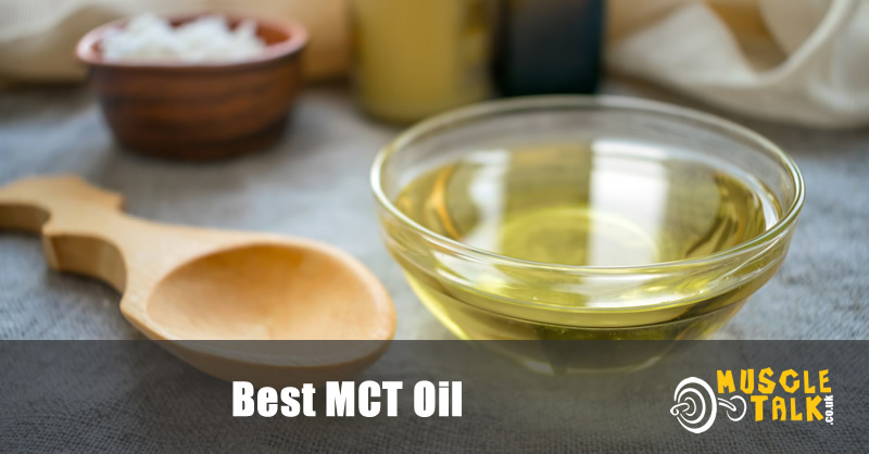 mct oil in bowl ready for use